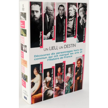 """Coffret DVD """"Un Lieu - Un Destin"""""""