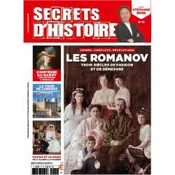 Magazine Secrets d'Histoire - Les Romanov