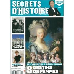 Magazine Secrets d'Histoire N°10 - 8 destins de femmes au coeur de la Révolution