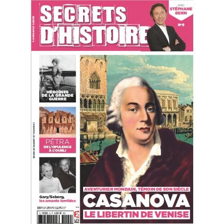 Magazine Secrets d'Histoire n°8 - Casanova