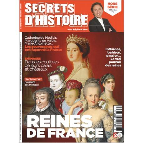Magazine Secrets d'Histoire - Hors Série Reines de France