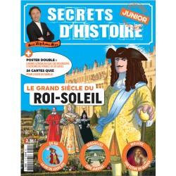Magazine Secrets d'Histoire Junior - Louis XIV