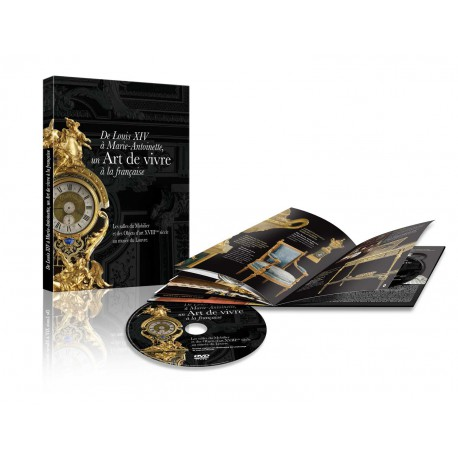 DVD musée du Louvre : mobilier XVIII musée du Louvre