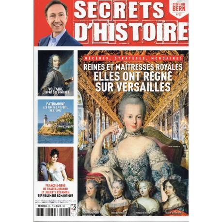 Magazine Secrets d'Histoire - Elles ont régné sur Versailles