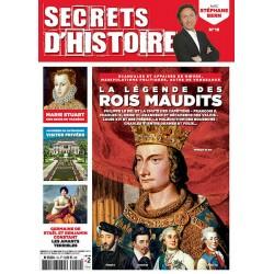 Magazine Secrets d'Histoire - Les rois maudits