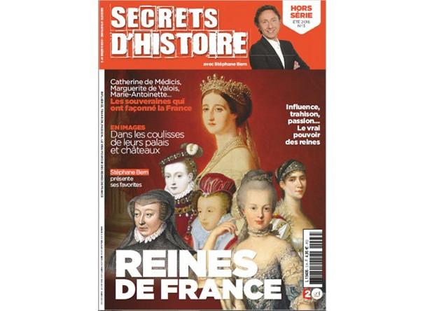 Magazine Secrets d'Histoire Hors-Série - Reines de France