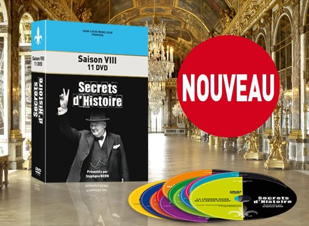 DVD Saison 8 Secrets d'Histoire